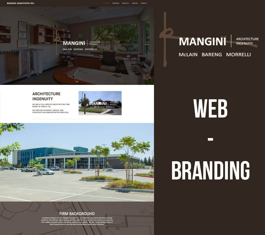 Vialia Web Design Mangini Associates